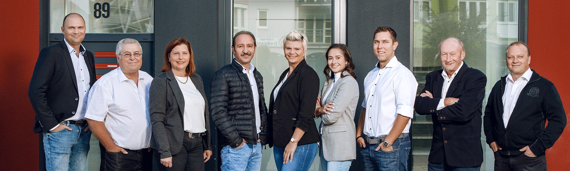 fairtrade personal Teambild